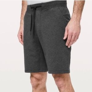 "LULULEMON ATHLETICA Men's City Sweat Short 9"" gray"